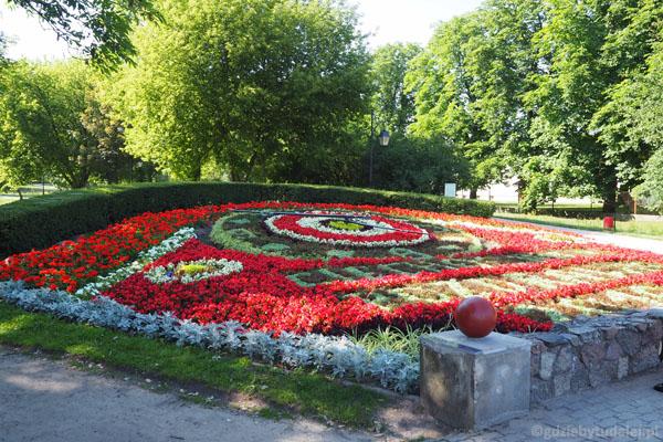 Kwiaty są wielką ozdobą Ciechocinka