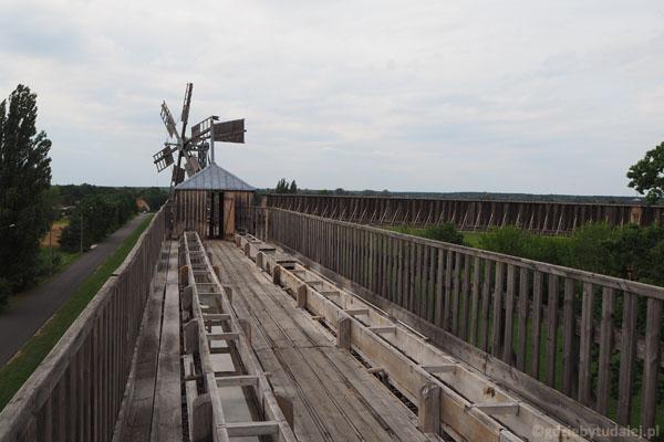 Widok z tarasu widokowego na Tężni II.