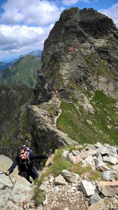 Ten szlak bywa nazywany Orlą Percią Tatr Zachodnich. Chyba nie bez przyczyny.