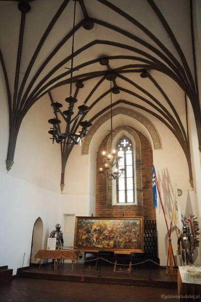 Zamkowa kaplica zachowała gotycki charakter.