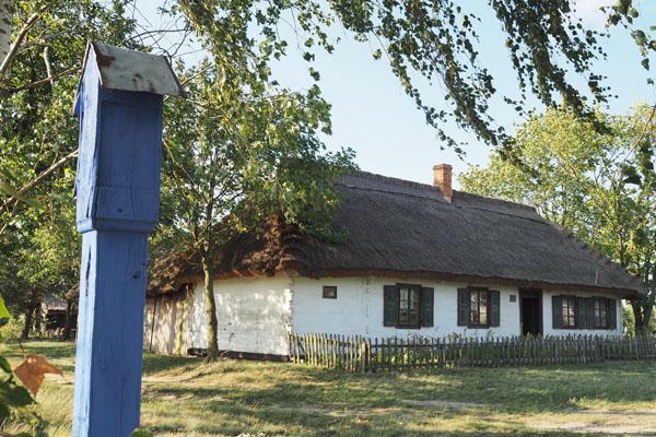 Chałupa z poł. XIX w.