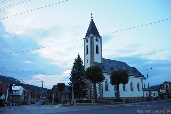Kościół w Zubercu pochodzi z lat 30. XX w.