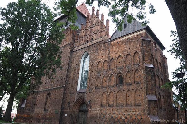 Kolegiata św. Mateusza to największy gotycki kościół na Żuławach.