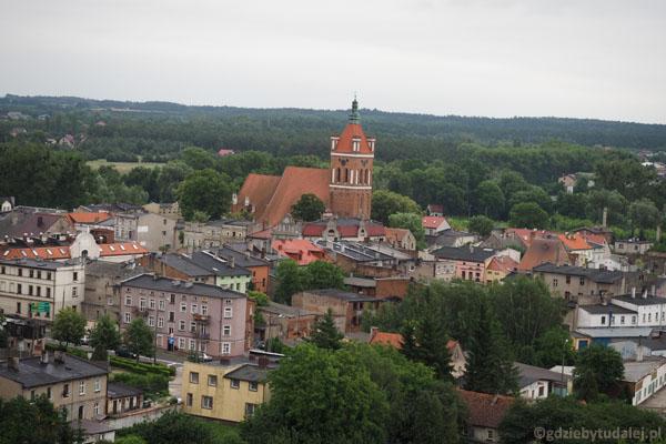 Gotycki kościół św. Katarzyny jak na dłoni.