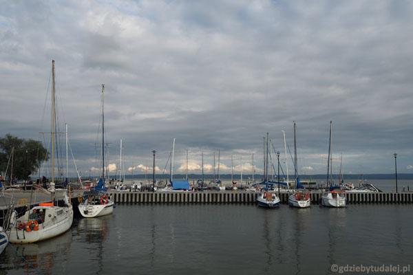 Port jachtowy w Krynicy Morskiej.