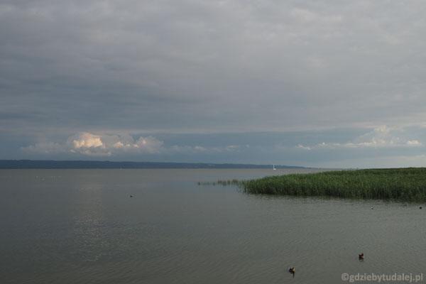Widok na zalew w kierunku zachodnim.