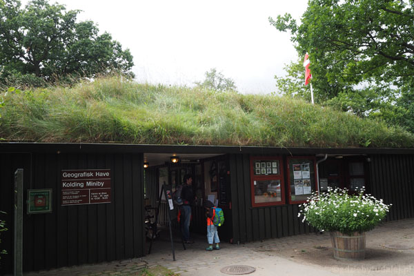 Wchodzimy do Ogrodu Geograficznego w Kolding