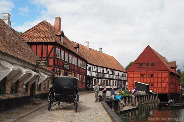 Den Gamle By - skansen Stare Miasto w Aarhus