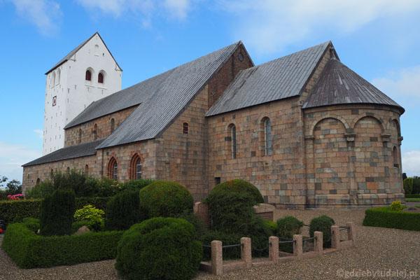 Vestervig Kirke - jeden z najsłynniejszych romańskich kościołów w Danii