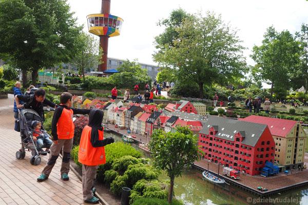 Miniland to najstarsza część Legolandu