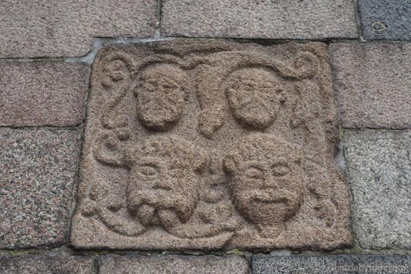 Maski jak w katedrze z Inowrocławiu