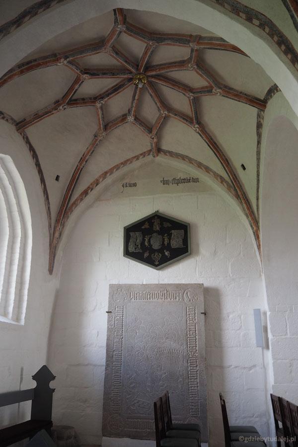 Vestervig Kirke - wnętrze