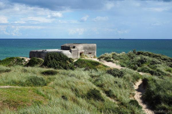 Bunkry są pozosałościami hitlerowskich fortyfikacji