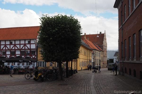 Urocze uliczki Aalborga