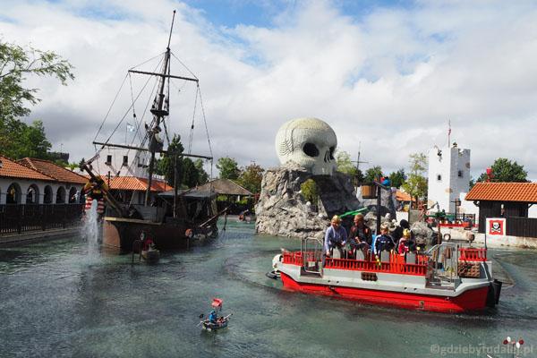 Atrakcje Legolandu - Kraina Piratów