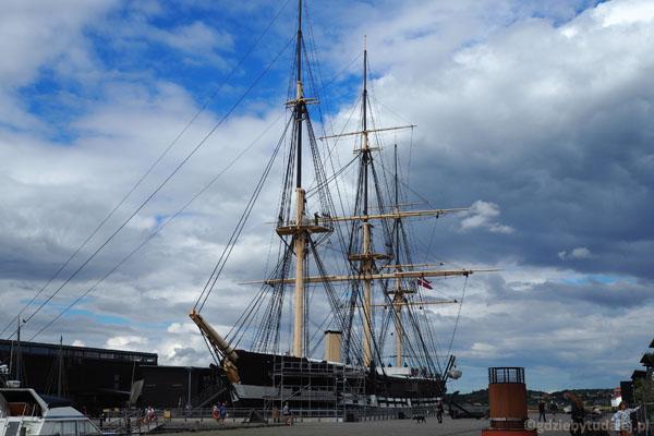 Fregata Jylland - najdłuższy drewniany żaglowiec na świecie