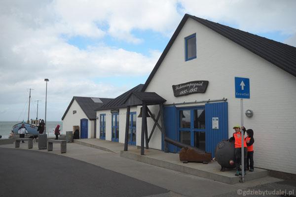 Zejście na plażę w Norre Vørupor