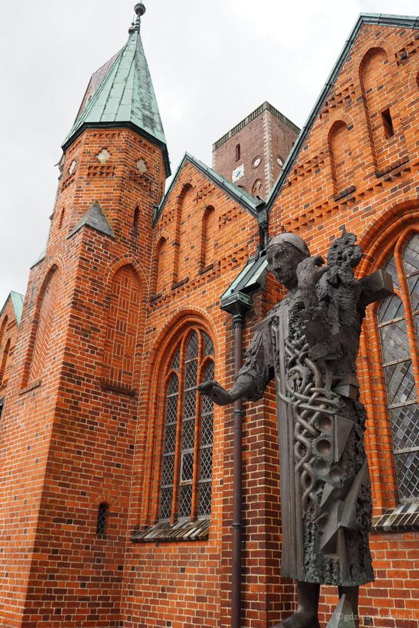 Św. Ansgar, założyciel pierwszego kościoła w Ribe