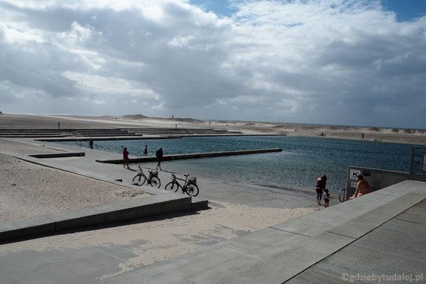 Kąpielisko nad Morzem Północnym wygląda jak hotelowy basen