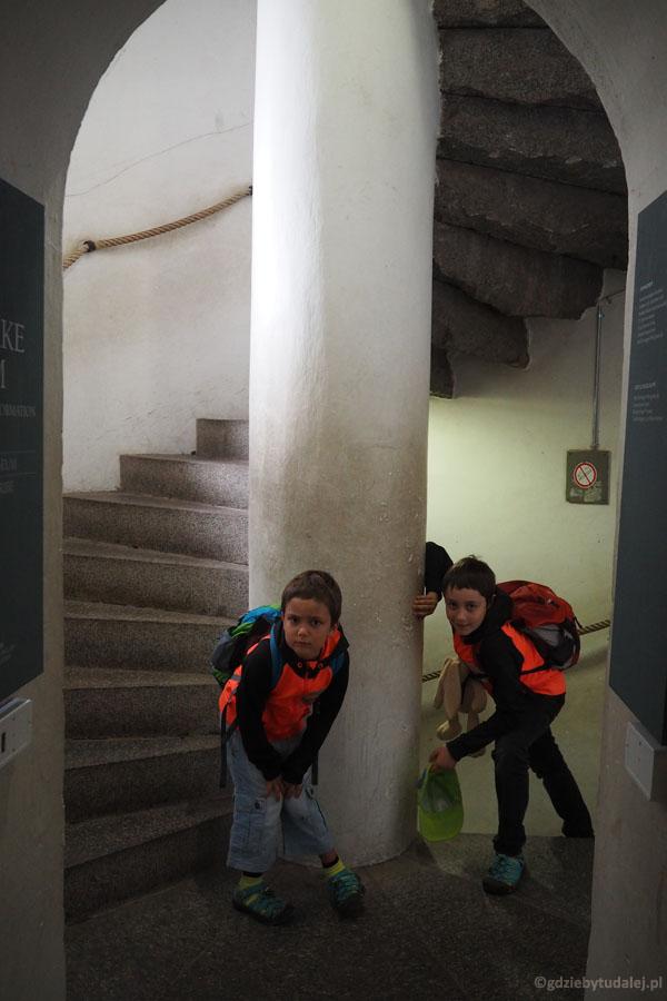 Wchodzimy na wieżę katedry w Ribe