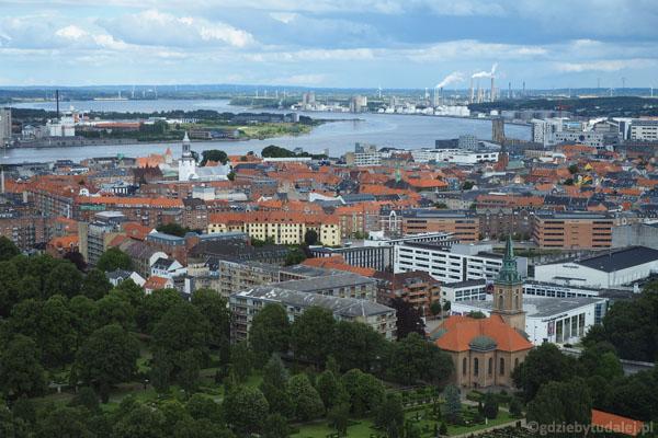 Widok na Limfjord w kierunku wschodnim