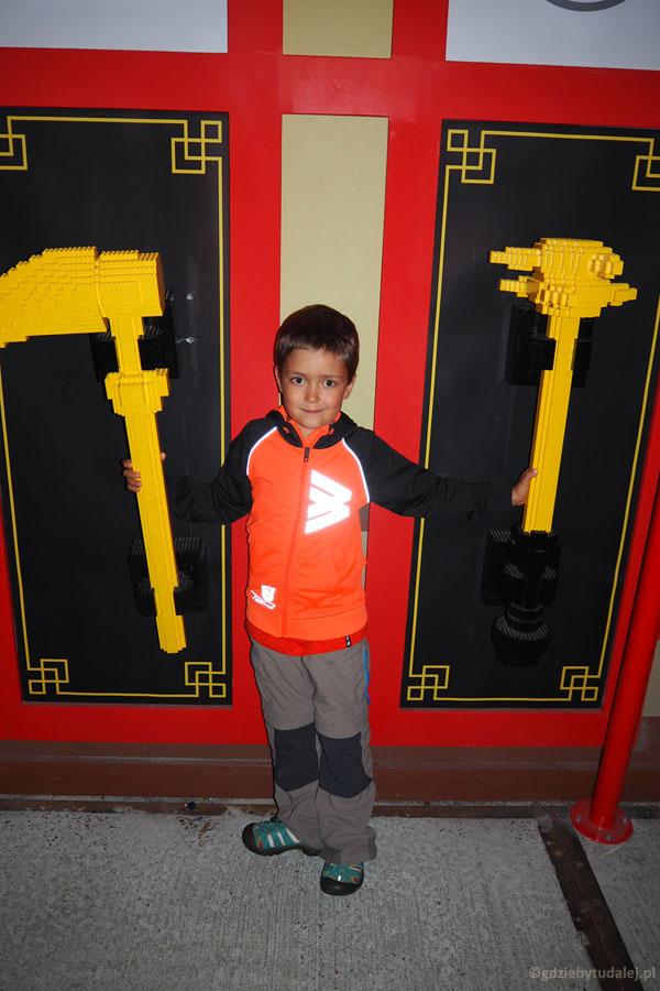 Idziemy do Świata Ninjago. To najnowsza atrakcja Legolandu, z 2016 r.