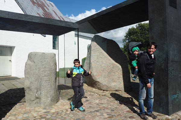 Kamienie z Jelling - wpisane na listę UNESCO