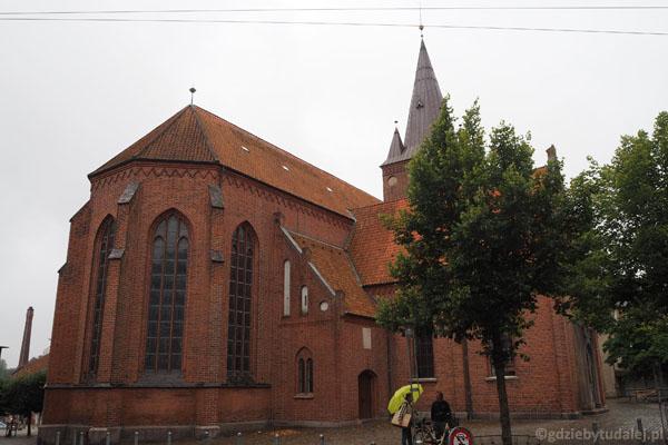 A to już prawdziwe Kolding. XIII-wieczny kościół św. Mikołaja