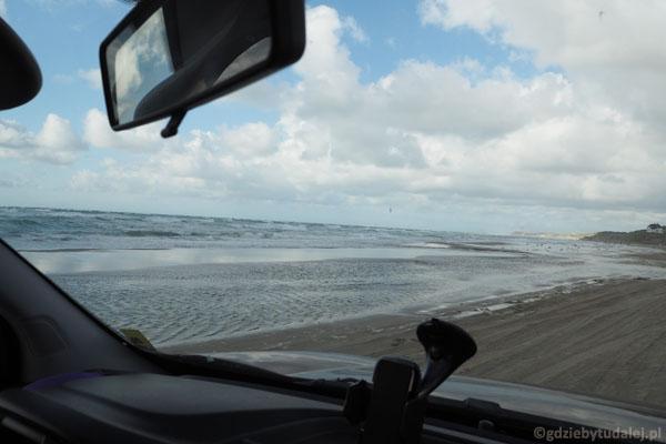 Po plaży jeszcze nie jeździliśmy