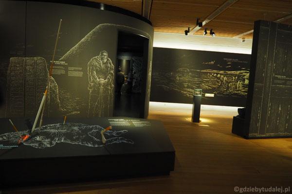Wnętrza są bardzo nowoczesne, a ekspozycja w pełni interaktywna.