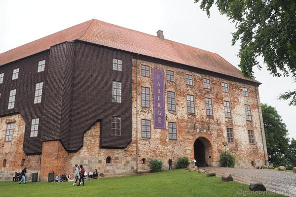 Zrekonstruowany Koldinghus - dawna siedziba królów Danii