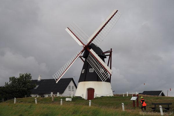 Wiatrak na Mandø pracował aż do wybuchu II wojny światowej