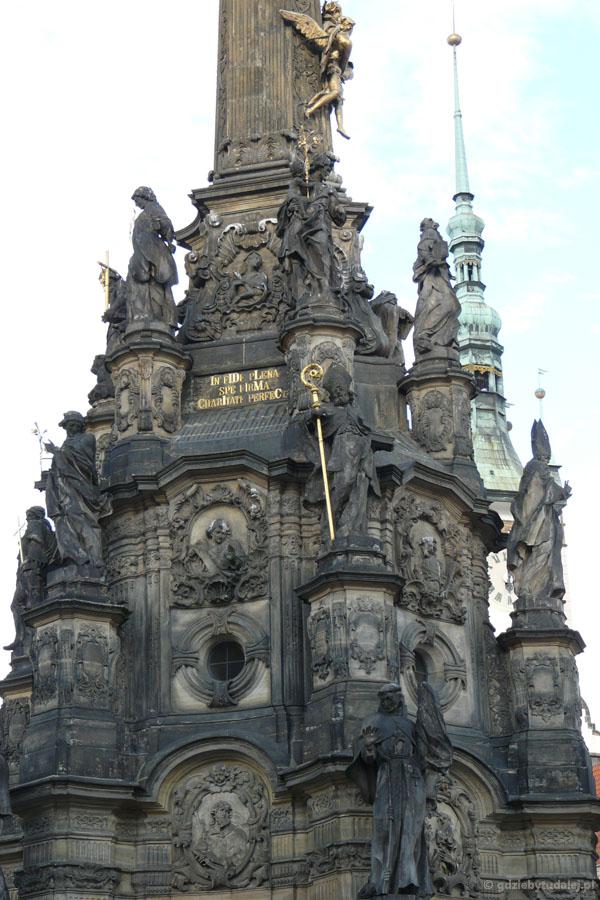 Ołomuniecka kolumna została wpisana na listę UNESCO.