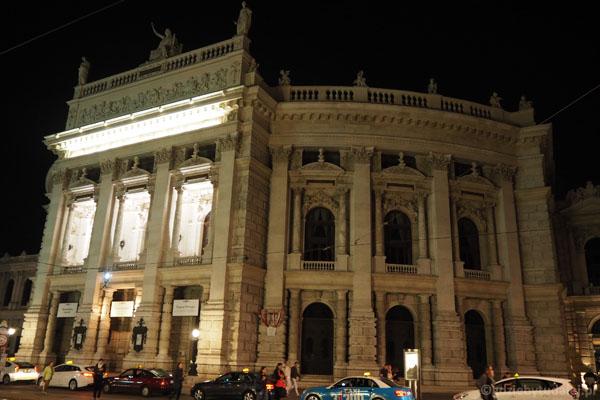 Burgtheater - wiedeński teatr.