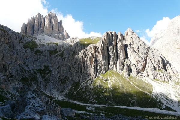 Podchodzimy od drugiej strony w okolice przełęczy Vaiolon.