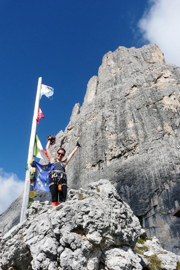 Urwiska słynnej Cima della Madonna w okolicach schroniska Velo.