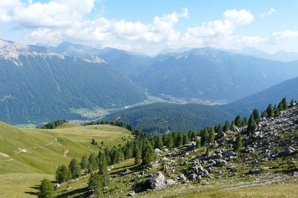 I jeszcze spojrzenie na Val di Fassa.