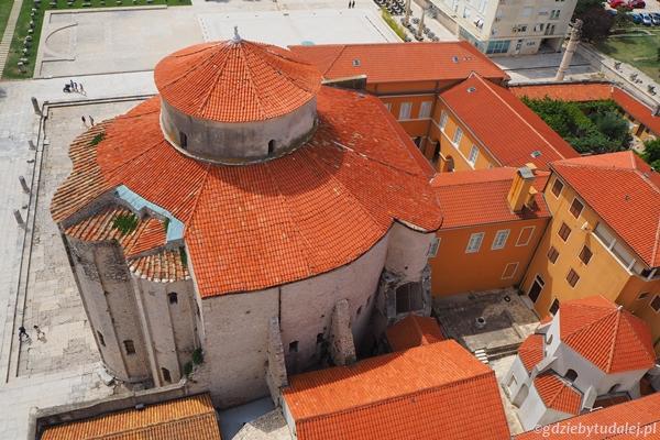 Zadar. Kościół św. Donata.