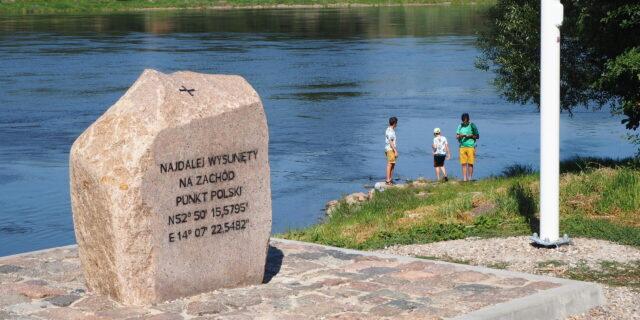 Najdalej na zachód wysunięty kraniec Polski