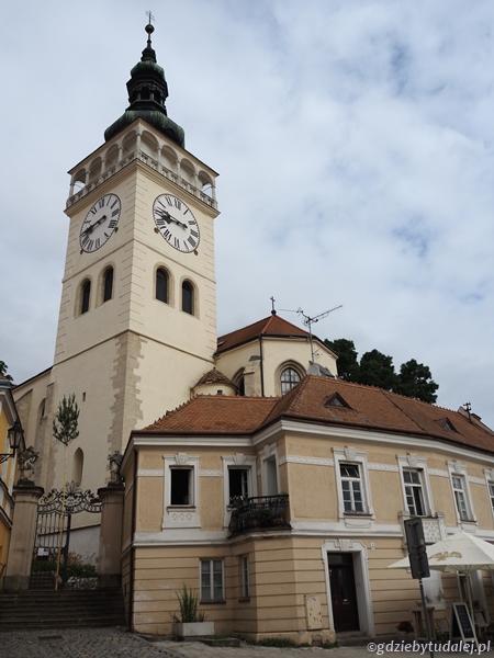 Wieża kościoła św. Wacława dto świetny punkt widokowy
